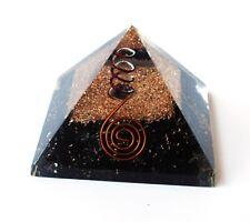 Reiki Energy Charged Black Tourmaline Orgone Pyramide Puissant