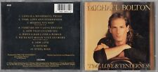 Michael Bolton - Time, Love & Tenderness (CD, Apr-1991) CK 46771 COLUMBIA