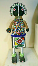 Handmade NDEBELE Madien Beaded Fertility Doll South African Tribe Bride New Tag