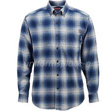 Wolverine Shirt Mens Hammond Long Sleeve Flannel Plaid Button-down collar Shirts