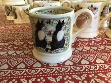 Emma Bridgewater Black & White Cat On Rug 0.5pt Mug New Best
