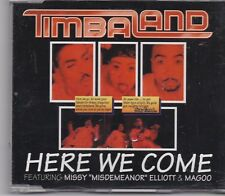 Timbaland-Here We Come cd maxi single