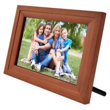iCozy 10'' Wi-Fi Picture Frame V2 - DW10PF2-R-204 - Brown Wood - NOB