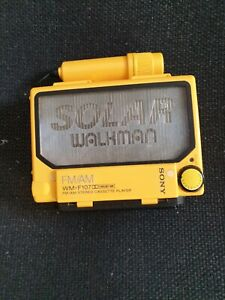 Sony Solar WM-F107 Walkman Cassette Player, Tested, Trusted Ebay Shop