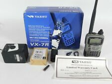 Yaesu VX-7R Handheld Triple-Band Submersible Ham Radio Transceiver (works great)