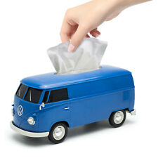 Furgone di Campeggiatore VW Ufficiale T1 Autobus Plastica Porta Fazzoletti - Blu
