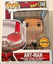MARVEL 2018 FUNKO POP ANT-MAN THE WASP UNMASKED VINYL L/E CHASE FIGURE NEW! HTF!