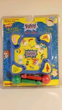 RARE VINTAGE Rugrats Toy Tag Electronic Talking Game Tiger 1997 Nickelodeon NEW