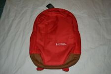 NEW Under Armour UA ROLAND Storm 17L RED Backpack Book Bag
