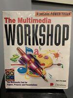The Multimedia Workshop 1994 MAC CD-ROM STILL SEALED Software Vintage Rare OOP