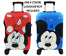 Xmas Minnie Mickey Travel Case Protective Cover Luggage Suitcase Skin Dust Proof