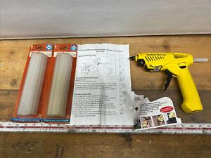 Hotery Professional Cordless Gas Hotmelt Glue Gun HG-872B & New Glue Sticks 12mm