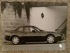 1991 Porsche 944 Turbo Coupe B&W Press Photo Factory Issued RARE!! Awesome L@@K