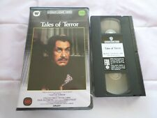 TALES OF TERROR - (VHS, 1962) - VINCENT PRICE - ORIGINAL WARNER BIG BOX