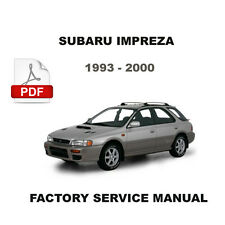 ULTIMATE SUBARU IMPREZA 1993 1994 1995 1996 1997 1998 1999 2000 WORKSHOP MANUAL