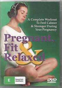 Pregnant Fit and Relaxed DVD Workout Fitness for Pregnancy