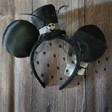 Disney Parks Nightmare Before Christmas Jack Skellington Top Hat Ears Headband