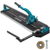 "31"" Manual Tile Cutter Cutting Machine 800mm Steel Adjustable For Large Tile"