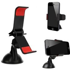 UNIVERSAL SAT NAV HOLDER WINDSCREEN OR DASHBOARD MOUNT UP TO 9CM IPHONE 7 PLUS