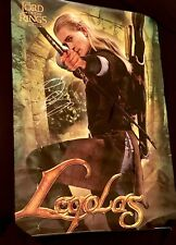 """LEGOLAS Orlando Bloom SIGNED Lord Of The Rings LARGE Movie POSTER 24x36"""" COA!"""