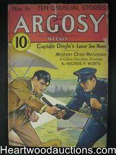 """""""Argosy"""" Nov 5, 1932 A. Merritt """"Burn, Witch, Burn"""", George F. Worts"""
