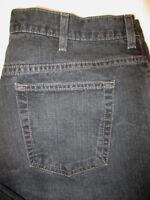 Old Navy Straight Leg Mens Black Wash Denim Jeans Size 38 x 29 Mint