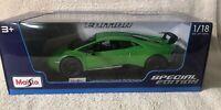 Lamborghini Huracan Performante - Maisto Special Edition 1:18 scale - Green New