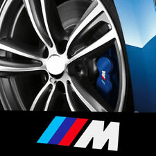 4x Auto Adhesivo Para BMW M Rendimiento De Alta Calidad De Pinza De Freno Calcomanía Adhesivo