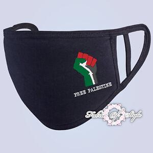 FREE PALESTINE Gaza FREEDOM 2020 Face Mask Washable Reusable