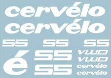 CERVELO S5 Bike Bicycle Frame Decals Stickers Graphic Adhesive Set Vinyl White