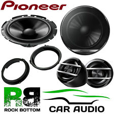 Pioneer Ford Transit Custom 2012 On 600W Component Kit Front Door Car Speakers