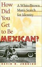 How Did You Get to Be Mexican?: A White/Brown Man's Search for Identity