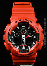 NEW WITH TAGS Casio Gshock X-Large Ana-Digi GA100B-4A RED Watch