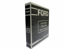 Ford 1010 Series 1910, 2110 Tractor Service Manual Repair Shop Book NEW w/Binder