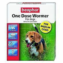 Beaphar One Dose Wormer Medium Dog - 2tabs - 719269
