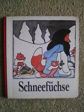 Schneefüchse - DDR Bilderbuch mit den Füchsen - Erika Klein