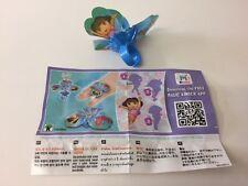 Kinder Surprise Joys Dora The Explorer Ltd Edition Toy TR086F INDIA 2016 Rare
