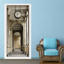 Adesivo Muro Murale Porta Decorazione Decalcomania passaggio FOTO Casa 86 cm x 200cm