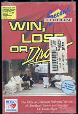 SEALED COMMODORE 64/128 COMPUTER GAME PROGRAM,WIN,LOSE OR DRAW 2nd