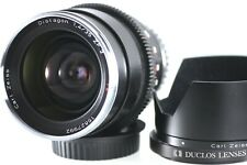 ZEISS Distagon T 35mm f/1.4 ZF.2 MF Duclos cine mod lens with Leitax canon mount