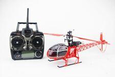 RC Hubschrauber Helikopter Ferngesteuert - MT250 Lama Luftrettung - LCD Display