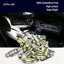 Car 8-Styling White Premium Interior Read LED Bulbs Package Replacement Ligh