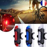 LED Portable USB Rechargeable Bicyclette Vélo Avertissement Sécurité Lumière TOP