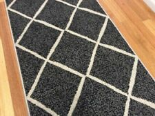 grey modern simple design Hallway Rug, Runner,80cm Width Assorted Lengths NEW