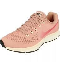 Entièrement neuf dans sa boîte Femmes Nike Air Zoom Pegasus 34 rouille ROSE ~ 880560 606 ~ Taille UK 5 EUR 38.5