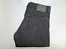 "LEVIS 511 Jeans Slim Leg Fit Black Stretch Denim SIZE W32 L34 Waist 32"" Leg 34"""