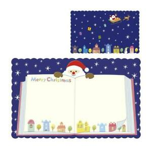 Christmas Xmas Seasonal Holiday Greeting Cute Gift Tag Message Cards