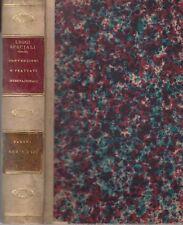 RACCOLTA DELLE LEGGI SPECIALI Serie 8. Vol. Unico, Pacifici-Mazzoni 1879  *MC3.5