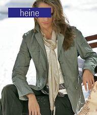 NEU: WEISS !! FASHION BLAZER JACKE CRASH EDELKNITTER GR. 36 HEINE 80€ *183610