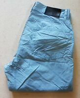 HUGO BOSS CHINOS MONTANA BLUE REGULAR FIT SIZE W28 L30 RRP £140 (129)